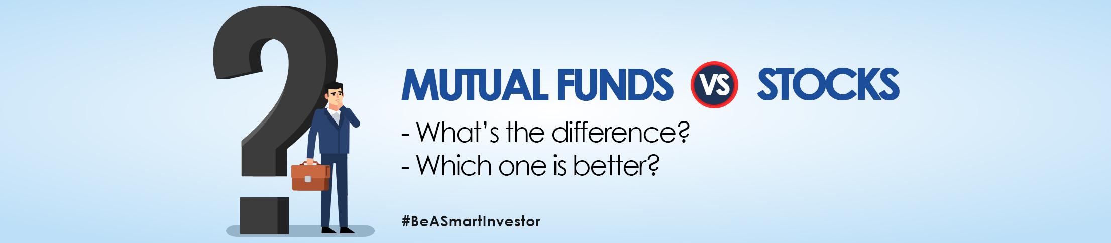stock vs mutual funds